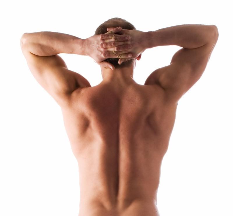 Эпиляция спины мужская